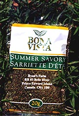 Bona Vista Summer Savory package